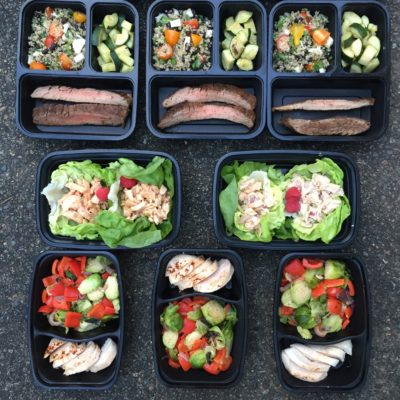 lyv well meal prep lunch and dinner
